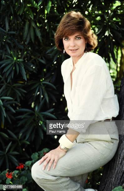 Actress Linda Gray who played Sue Ellen Ewing July 12 1983 in Los Angeles California