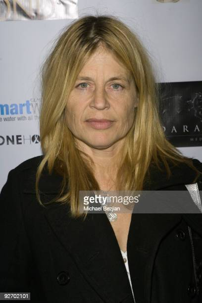 Actress Linda Hamilton arrives at the premiere of 'The Black Waters of Echo's Pond' on November 3 2009 in Los Angeles California