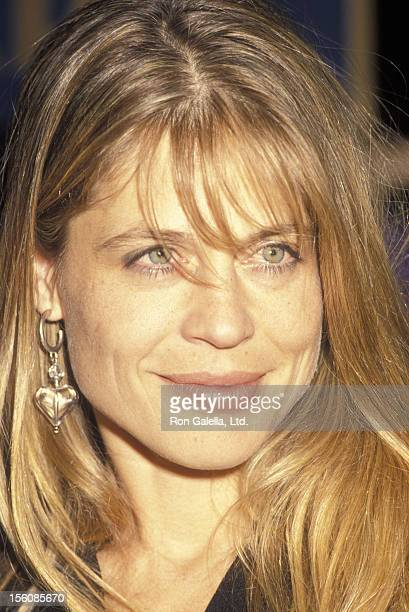 Actress Linda Hamilton attending 18th Annual Saturn Awards on March 13 1992 at the Universal Hilton Hotel in Universal City California