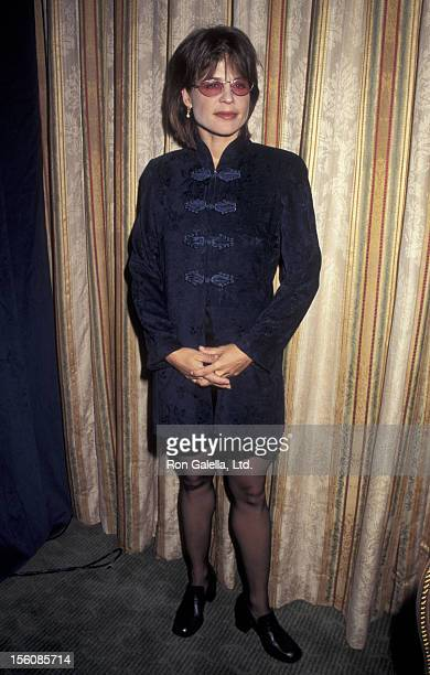 Actress Linda Hamilton attending 'Press Conference for 17th Annual Cable ACE Awards Nominations' on September 19 1995 at the Waldorf Astoria Hotel in...