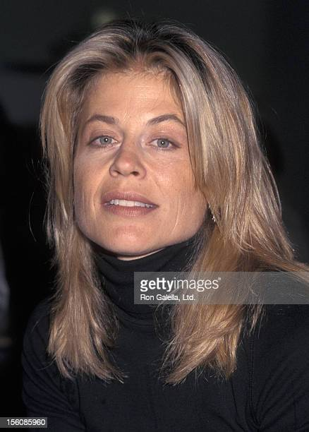 Actress Linda Hamilton attending 'USDA Convention' on July 10 1997 at Las Vegas Convention Center in Las Vegas Nevada