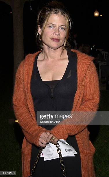 Actress Linda Hamilton attends the Showtime premiere of 'What Girls Learn' October 10 2001 at Paramount Studios in Hollywood CA