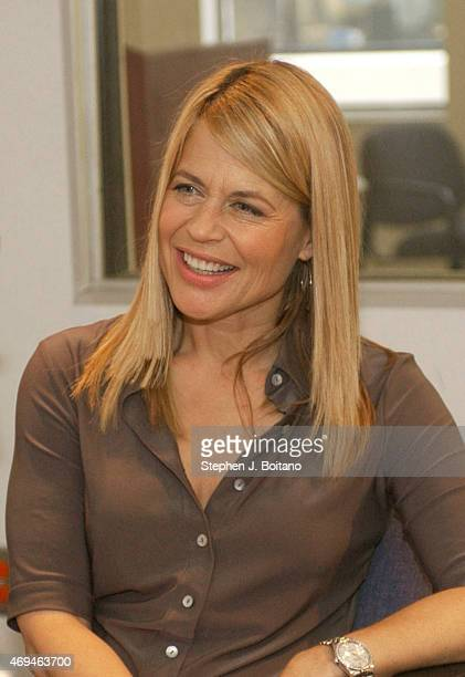 Actress Linda Hamilton best known for her role as Sarah Connor in the 'Terminator' movies speaks on bipolar disorder in Washington DC