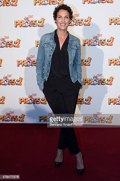 Actress Linda Hardy attends 'Les Profs 2' Paris Premiere at Le Grand Rex on June 9 2015 in Paris France