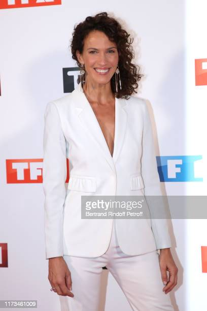 Actress Linda Hardy attends the Groupe TF1 Photocall at Palais de Tokyo on September 09 2019 in Paris France