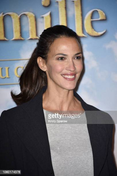 Actress Linda Hardy attends the Remi Sans Famille Paris Premiere at Le Grand Rex on November 11 2018 in Paris France