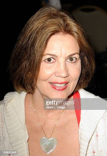Actress Linda Harrison participates in The Hollywood Show held at Burbank Airport Marriott Hotel Convention Center on October 6 2012 in Burbank...