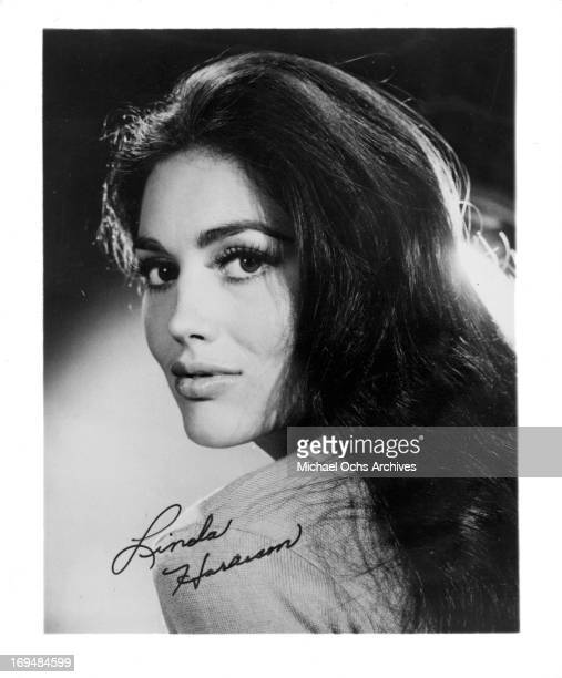 Actress Linda Harrison poses for a portrait in circa 1965