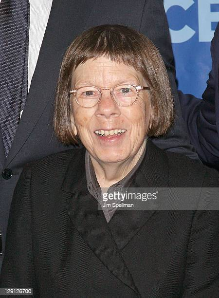 Actress Linda Hunt attends the 2011 CBS Upfront at The Tent at Lincoln Center on May 18 2011 in New York City