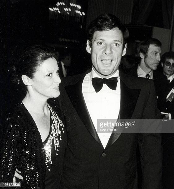 Actress Linda Lavin and husband Ron Liebman attending 36th Annual Golden Globe Awards on January 27 1979 at the Beverly Hilton Hotel in Beverly Hills...