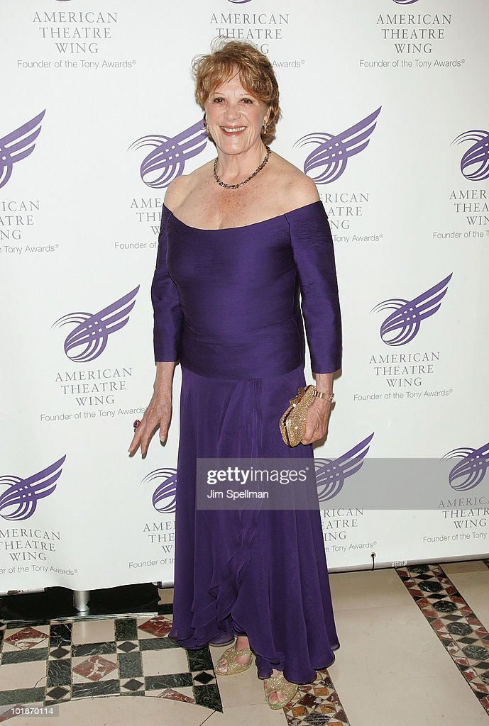 Actress Linda Lavin attends the 2010 American Theatre Wing Spring Gala at Cipriani 42nd Street on June 7, 2010 in New York City.
