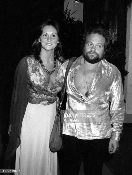 Actress Linda Lovelace and choreographer David Winters attend the Tommy Smothers Opening at the Troubador in Hollywood, California on March 12, 1974....