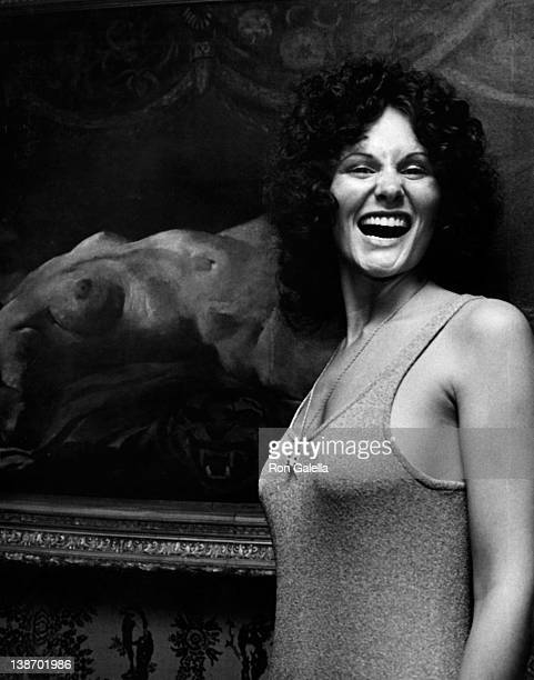 Actress Linda Lovelace attends the press conference for Linda Lovelace Book Inside Linda Lovelace on May 30 1973 at the Gaslight Lounge in New York...