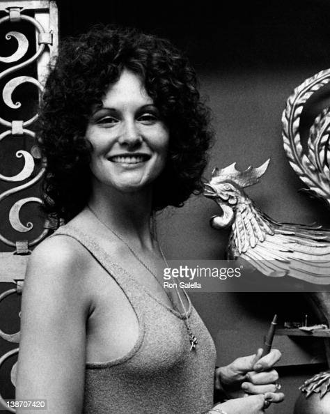 Actress Linda Lovelace attends the press conference for