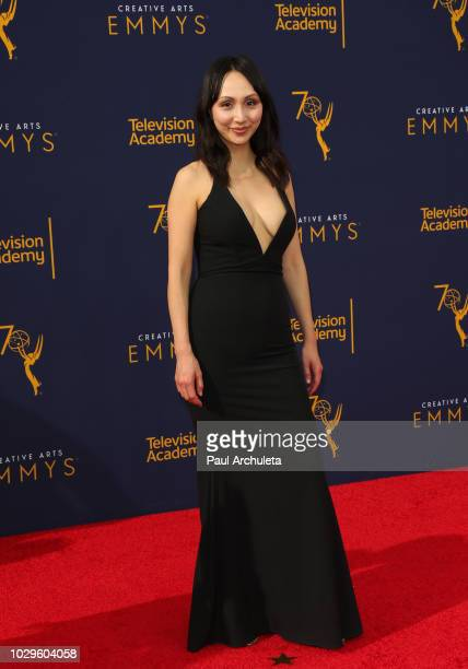 Actress Linda Park attends the 2018 Creative Arts Emmy Awards Day 1 at Microsoft Theater on September 8 2018 in Los Angeles California