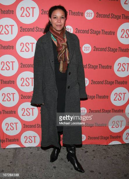 Actress Linda Powell attends Edward Albee's Peter And Jerry Opening Night at Second Stage Theatre on November 11 2007 in New York City