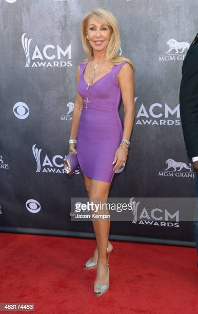 Actress Linda Thompson attends the 49th Annual Academy Of Country Music Awards at the MGM Grand Garden Arena on April 6 2014 in Las Vegas Nevada