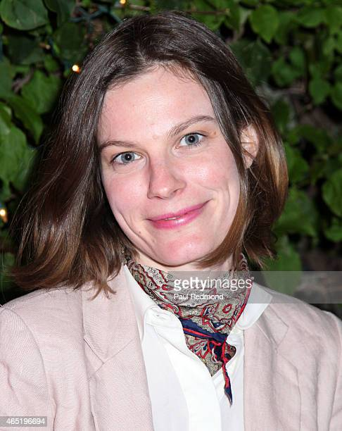 Actress Lindsay Burdge attends the screening of 'Wild Canaries'at Cinefamily on March 3 2015 in Los Angeles California