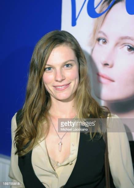 Actress Lindsay Burdge attends The Verge List Party at the Samsung Galaxy Lounge at Village At The Lift 2013 on January 19 2013 in Park City Utah