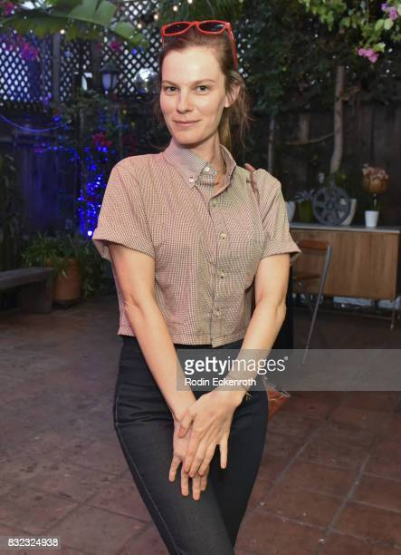 Actress Lindsay Burdge poses for portait at the screening of 'Snowy Bing Bongs' at The CineFamily on August 15 2017 in Los Angeles California