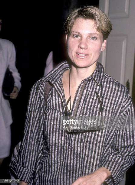 Actress Lindsay Crouse attends The Big Sisters Foundation's Celebrity Fashion Show Benefit on October 2 1985 at Beverly Hills Hotel in Beverly Hills...