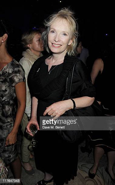 Actress Lindsay Duncan attends an after party following press night of The Old Vic's production of Richard III starring Kevin Spacey and directed by...