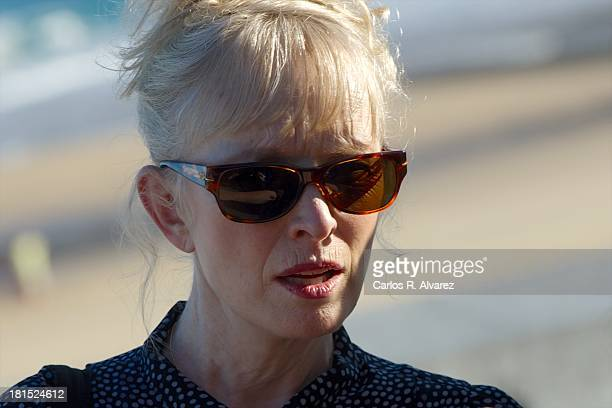 Actress Lindsay Duncan attends the 'Le WeekEnd' photocall during the 61th San Sebastian International Film Festival at the Kursaal Palace on...