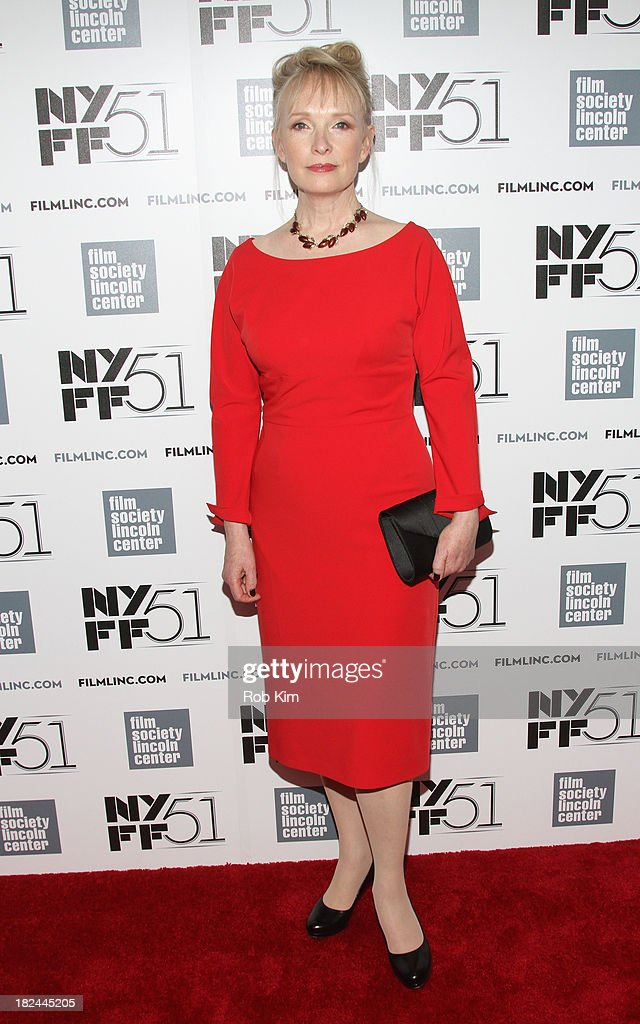 Actress Lindsay Duncan attends the 'Le Week-End' premiere during the 51st New York Film Festival at Alice Tully Hall at Lincoln Center on September 29, 2013 in New York City.