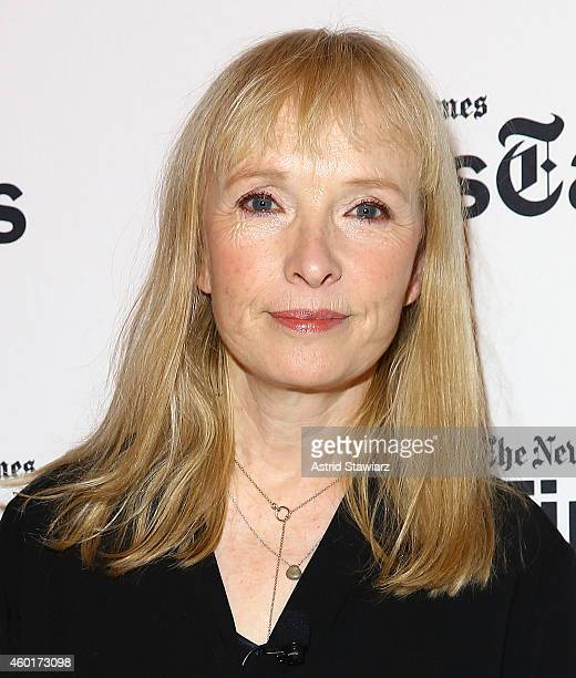 Actress Lindsay Duncan attends TimesTalks Presents An Evening With The Cast Of 'A Delicate Balance' at The Times Center on December 8 2014 in New...