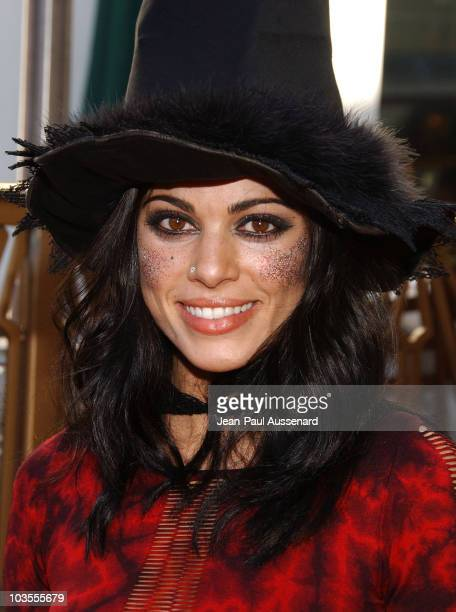 Actress Lindsay Hartley arrives at Passions Halloween party held at Universal CityWalk on October 20th 2007 in Hollywood California
