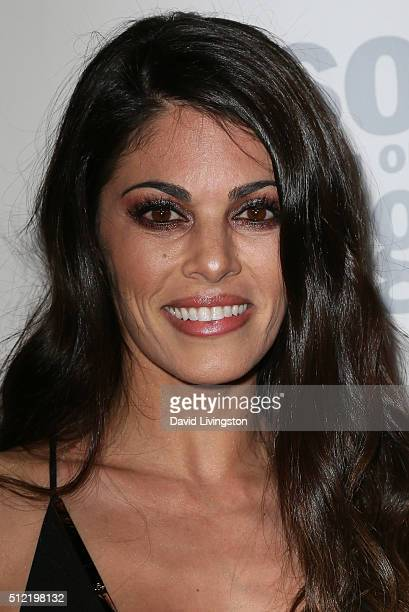 Actress Lindsay Hartley arrives at the 40th Anniversary of the Soap Opera Digest at The Argyle on February 24 2016 in Hollywood California