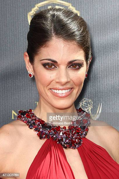 Actress Lindsay Hartley attends the 42nd annual Daytime Emmy Awards held at Warner Bros. Studios on April 26, 2015 in Burbank, California.