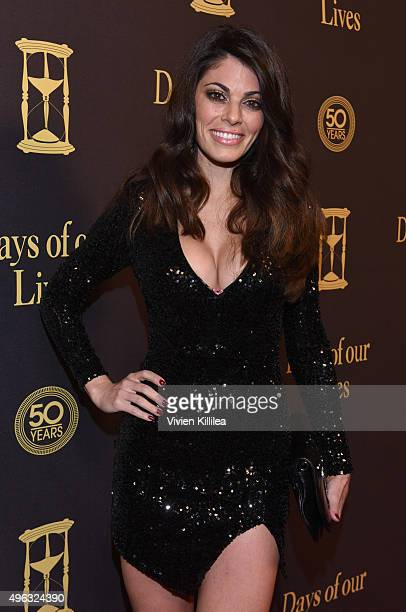 Actress Lindsay Hartley attends the Days Of Our Lives' 50th Anniversary Celebration at Hollywood Palladium on November 7, 2015 in Los Angeles,...