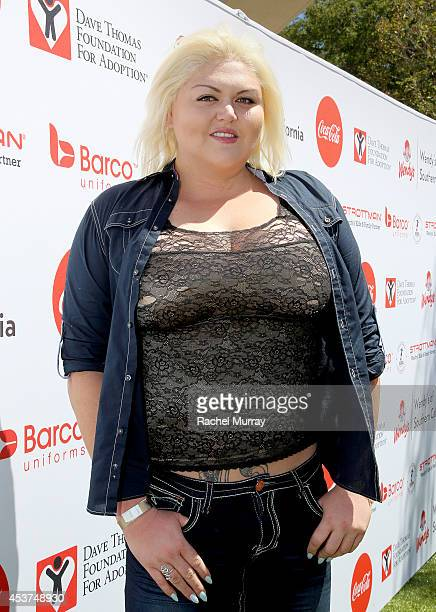 Actress Lindsay Kay Hayward attends Kickball For A Home Celebrity Challenge presented by Dave Thomas Foundation For Adoption at USC on August 16 2014...