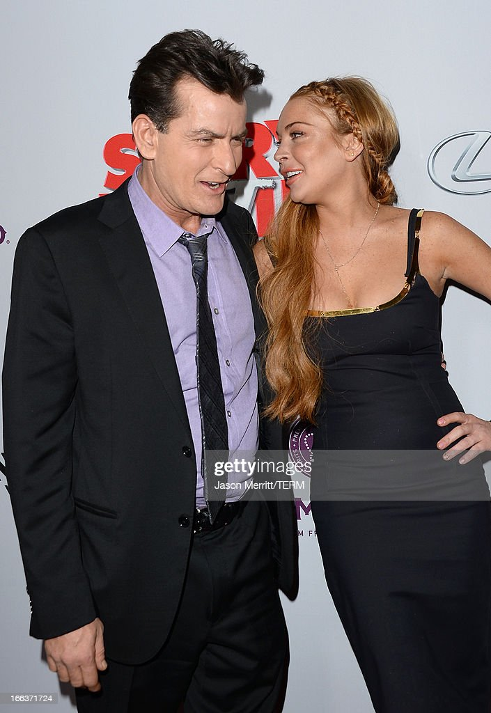Actress Lindsay Lohan Arrives At The Dimension Films Scary Movie 5 News Photo Getty Images
