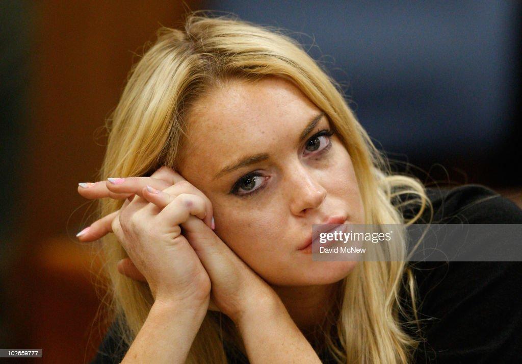 Lindsay Lohan Probation Hearing : ニュース写真