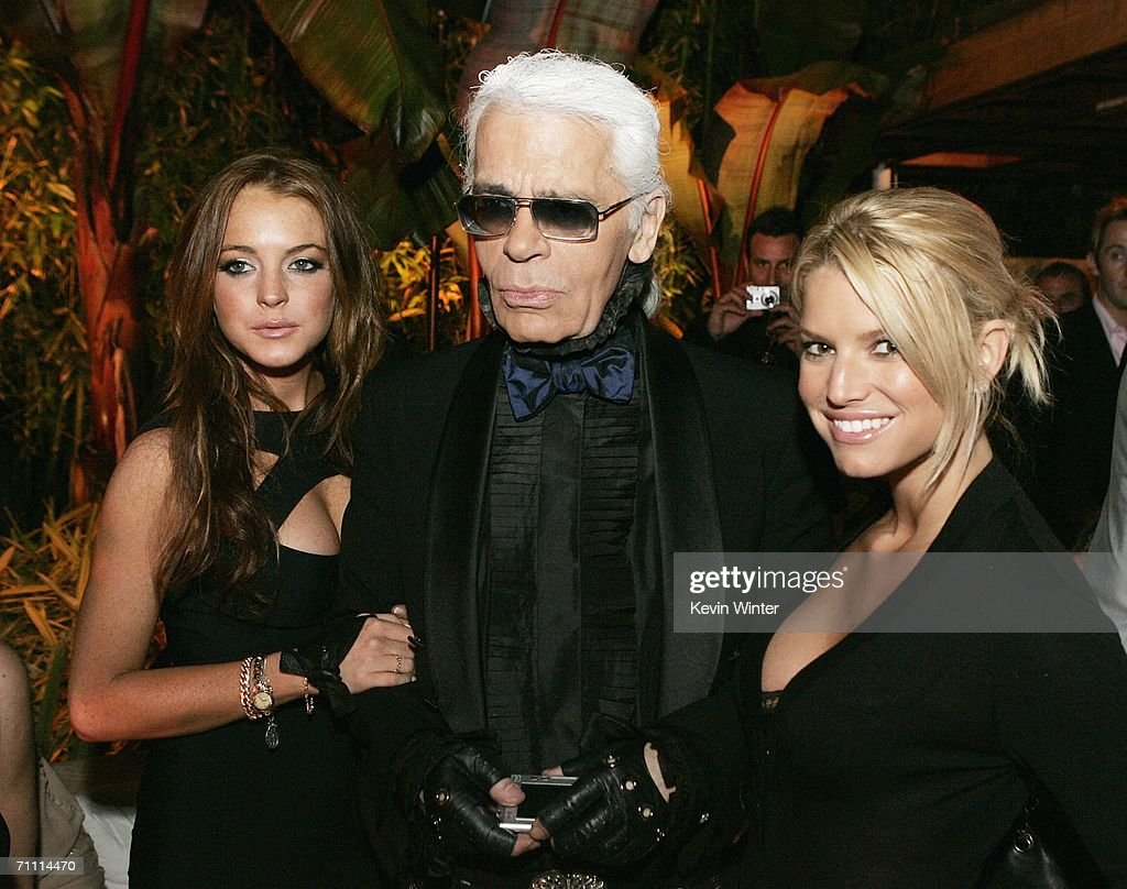 International Launch of Dom Perignon Rose Vintage 1996 Champagne by Karl Lagerfeld - Inside : News Photo