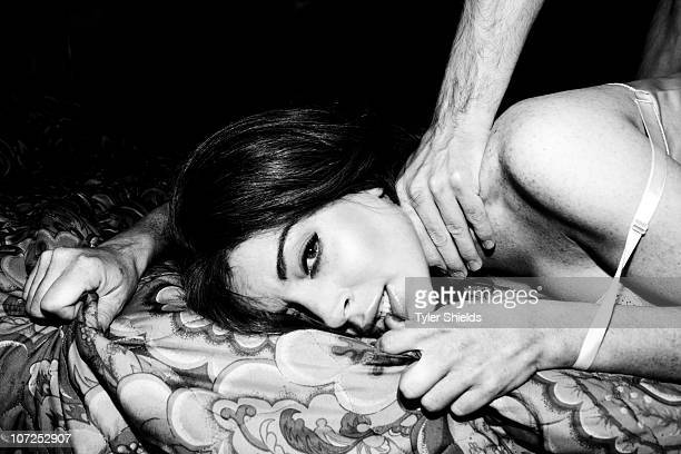 Actress Lindsay Lohan poses in character as Linda Lovelace for a portrait session on May 10 Los Angeles CA