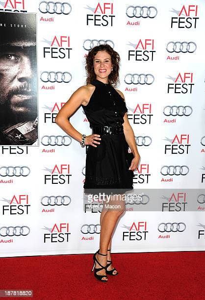 Actress Lindsay McDonald attends the premiere for Lone Survivor during AFI FEST 2013 presented by Audi at TCL Chinese Theatre on November 12 2013 in...