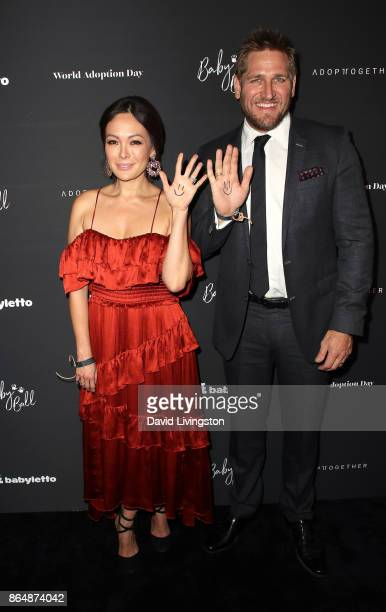 Actress Lindsay Price and chef Curtis Stone attend the 7th Annual Baby Ball Gala at NeueHouse Hollywood on October 21 2017 in Los Angeles California