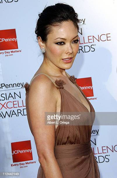 Actress Lindsay Price arrives forThe 2008 JCPenney Asian Excellence Awards on April 23 2008 at UCLA's Royce Hall in Westwood California USA