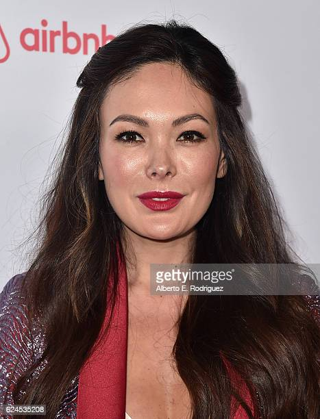Actress Lindsay Price attends the 3rd Annual Airbnb Open Spotlight at Various Locations on November 19, 2016 in Los Angeles, California.