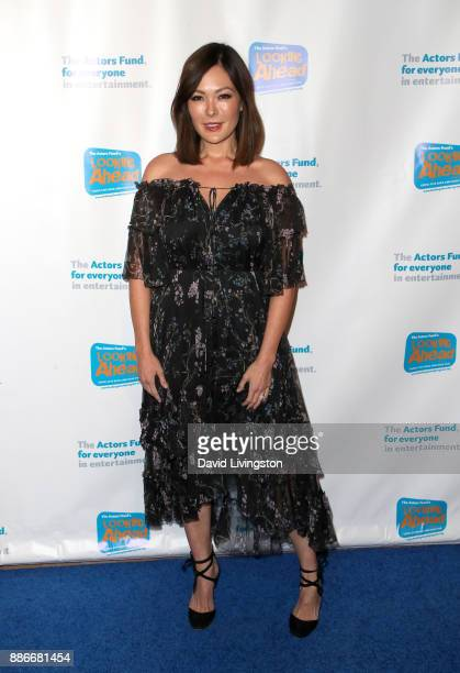 Actress Lindsay Price attends The Actors Fund's 2017 Looking Ahead Awards honoring the youth cast of NBC's 'This Is Us' at Taglyan Complex on...