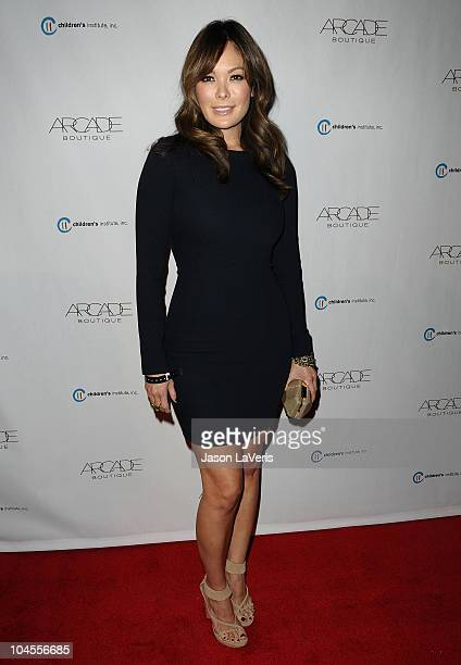 Actress Lindsay Price attends the Autumn Party benefiting Children's Institute at The London Hotel on September 29, 2010 in West Hollywood,...
