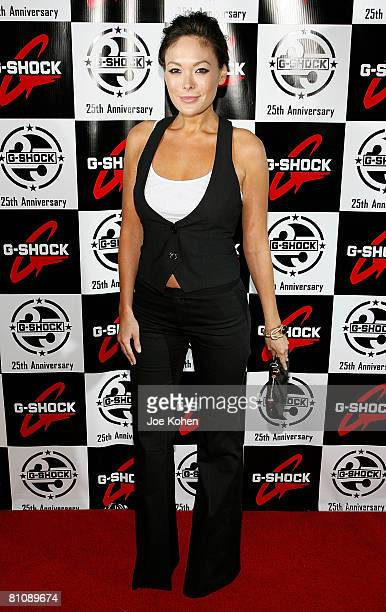 Actress Lindsay Price attends the Casio GSHOCK 25th Anniversary Celebration at Gustavino's on May 14 2008 in New York City