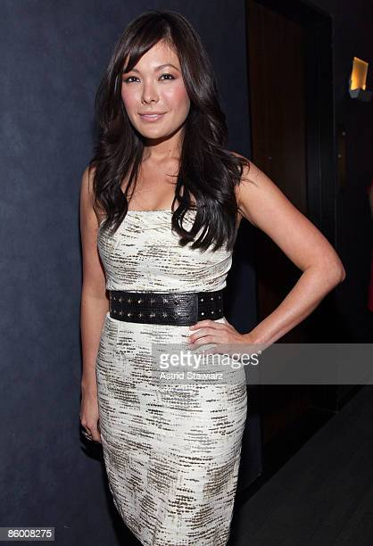 Actress Lindsay Price attends the Lucky Magazine celebration for the launch of Made With Love at the Thompson LES on April 16 2009 in New York City
