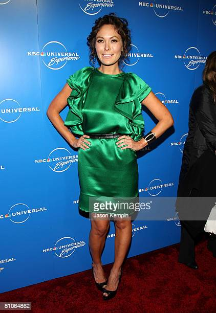 Actress Lindsay Price attends the NBC Universal Experience at Rockefeller Center on May 12 2008 in New York City