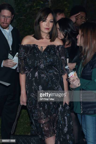 Actress Lindsay Price is seen on December 5 2017 in Los Angeles CA