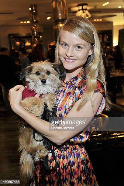 Actress Lindsay Pulsipher attends Kelly Wearstler for NKLA event on November 19 2013 in Los Angeles California