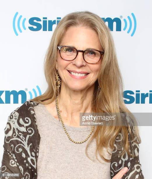 Actress Lindsay Wagner visits the SiriusXM Studios on February 5 2018 in New York City